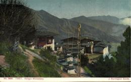 Tibet Thibet, Kargyu Monastery (1910s) Burlington Smith Postcard - Tibet