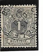 "Belgique N°43 ""Châtelet"" - 1884-1891 Léopold II"