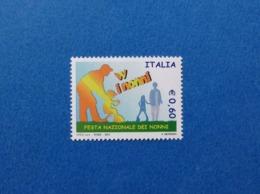 2007 ITALIA FESTA DEI NONNI FRANCOBOLLO NUOVO STAMP NEW MNH** - 1946-.. République