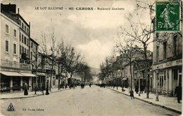 CPA Le Lot Illustre - CAHORS - Boulevard Gambetta (223304) - Cahors