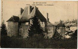 CPA Le Lot Illustre - Les JUINES - Le Chateau (223660) - France