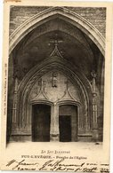 CPA Le Lot Illustre - PUY-l'EVEQUE - Porche De L'Église (223692) - France