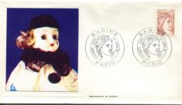 France-FDC-1981-yt 2119- Sabine -serigraphie De Gabou - Enveloppe - FDC