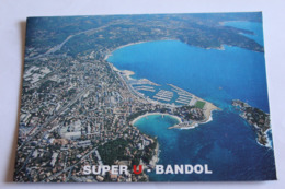Calendrier Pliant 15cmx 10,5 Cm Super U Sanary Super U Bandol - Kalenders