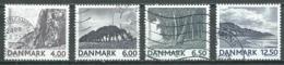 Danemark YT N°1311/1314 Paysages Oblitéré ° - Danemark