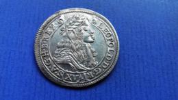 HAUS HABSBURG 17 Kreuzer 1680 Kremnitz Gute Erhaltung ! Leopold I (1657-1705) - Oesterreich