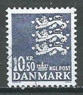 Danemark YT N°1299 Armoiries Oblitéré ° - Danemark