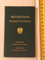 +++ Austria - Österreich - Passport Passeport Reisepass 1989 Db01 Em - Documenti Storici