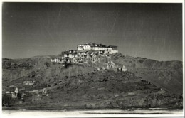 India, Leh Himalaya, Tibetan Thikse Monastery Gelug Gompa (1940s) Real Photo - India
