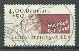 Danemark YT N°1308 Association Nationales Pour Handicapés Mentaux Oblitéré ° - Danemark