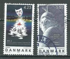 Danemark YT N°1344/1345 Europa 2003 Art De L'affiche Oblitéré ° - Europa-CEPT