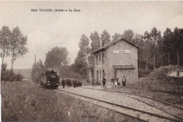 TRAINEL ( Aube ) La Gare - Altri Comuni