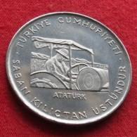 Turkey 2.50 Lira 1970 FAO F.a.o. - Turquia
