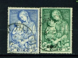 IRELAND  -  1954 Marian Year Set Used As Scan - Oblitérés
