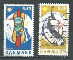Danemark YT N°1408/1409 Europa 2005 La Gastronomie Oblitéré ° - Europa-CEPT