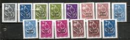 Séries Complètes Marianne LAMOUCHE  Années 2007 & 2008 . 14 Timbres Neufs **  Côte 58,00 Euro - St.Pedro Y Miquelon