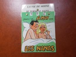 Carte Postale  - Militaire à Système - Calendrier De La Classe - La Quille (3616) - Humour