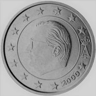 MONNAIE 2 Cent 2000 BELGIQUE Euro Fautée Non Cuivrée Etat Superbe - Abarten Und Kuriositäten