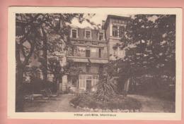 OUDE POSTKAART ZWITSERLAND - SCHWEIZ - SUISSE -  MONTREUX - HOTEL JOLI-SITE - VD Vaud