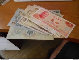 RUSSIA  -  CHINA   -  OTHERS     15  BILLETS  LOT  - MANY  UNC - Rusland