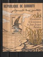 BF - 1985 - 4 **MNH - J.J. Audubon - Djibouti (1977-...)