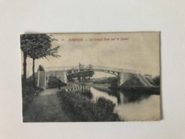 Izegem - Iseghem -le Grand Pont Sur Le Canal - Ed. Th Van Den Heuvel  - Gelopen 1906 - Izegem