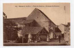 - CPA SUÈVRES (41) - Porte De Gastines - Ancienne Fortification (avec Personnages) - Edition Rathé-Beaujouan 504 - - Francia