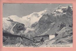 OUDE POSTKAART ZWITSERLAND - SCHWEIZ - SUISSE -   SAAS FEE  1910 - VS Valais