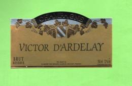 "Etiquette Du Champagne  ""    Victor  D'Ardelay - Champagne"