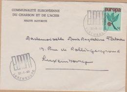 ENVELOPPE TIMBRE  1965 EUROPA VOIR PHOTO - FDC
