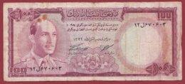 Aghanistan 100 Afghanis 1967b  Dans L 'état (77) - Afghanistán