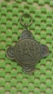 Medaille :Netherlands  -  Koningin Loop 30-4-1986  / Vintage Medal - Walking Association - Niederlande
