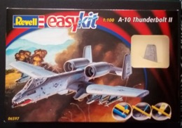 Maquette Easy Kit Revell A-10 Thunderbolt Il 1:100 - Airplanes
