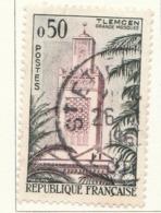 PIA - FRA - 1960 : Serie Turistica - Grande Moschea Di  Tlemcen  - (Yv 1238) - Islam