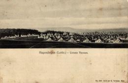 Carte-photo 57 - HAGONDANGE, La Colonie THYSSEN - Hagondange