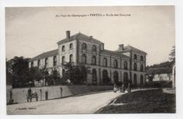 - CPA VERTUS (51) - Ecole Des Garçons 1916 - Edition J. Doublet - - Vertus