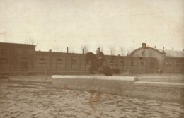 Carte-photo 57 - SARREBOURG - SAARBURG, Compétition équestre, Soldat Allemand, Photo W. THELLER - 1912 - Sarrebourg