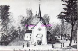 REF EX2 : CPM 93 Clichy Sous Bois Chapelle De Notre Dame Des Anges 1882 Dos Blanc - Clichy Sous Bois