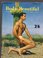 Revue BODY BEAUTIFUL Studies In Masculine Art Vol 3 N°4 (PPP20443) - Sports