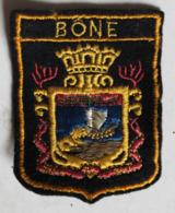 écusson Brodé Ancien Algérie Bone Annaba Blason Armoiries - Blazoenen (textiel)