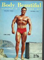 Revue BODY BEAUTIFUL Studies In Masculine Art Vol 3 N°5 (PPP20444) - Sports