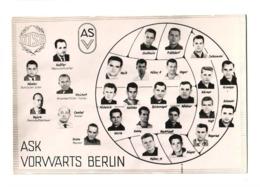 ASK VORWARTS BERLIN FOOTBALL TEAM CALCIO FOOTBALL - Sports