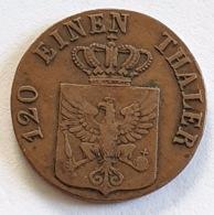 PRUSSIA -  Friedrich Wilhelm III -  3 Pfennige -  1834 B - [ 1] …-1871 : German States