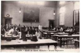 69 - B25243CPA - LYON - Ecole De Santé Militaire - Grand Réfectoire - Très Bon état - RHONE - Altri