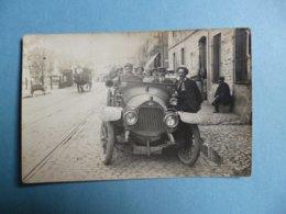 Carte Photo  Véhicule, D F P  -  ( Doriot - Flandrin - Paraut  )  -  Lieu à Définir ( Semble être PARIS ) - Voitures De Tourisme