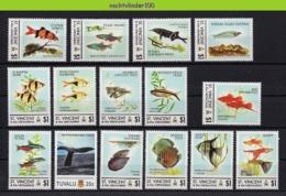 Nff066 FAUNA VISSEN FISH FISCHE POISSONS MARINE LIFE ST.VINCENT & THE GRENADINES 2011 PF/MNH - Fische