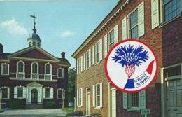 Philadelphia Pennsylvania Carpenter S Halle And The Marine Corps Museum Pennsylvanie Washington Stamps Autocollant - Philadelphia