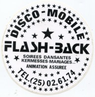 AUTOCOLLANT FLASH BACK  DISCO MOBILE - Stickers