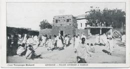Abyssinie - église Abyssine à Harrar. - Mini Carte . - Ethiopie