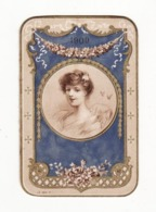 Calendrier De 1909    SAVON A LA CREME SIMON - Petit Format : 1901-20